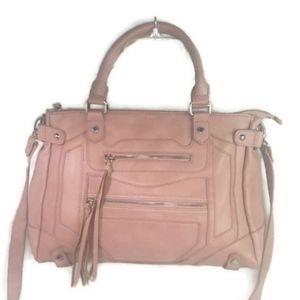 Steve Madden Pink Convertible Crossbody Bag